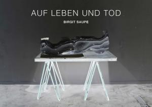 Flyer, Austellung, Birgit Saupe 2014